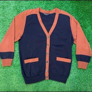 Vintage Brooks Brothers Wool Cardigan Medium
